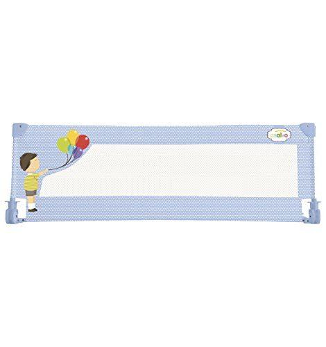 Asalvo-Ballons-Barrire-de-Lit-Bleu-150-X-435-cm-0-0