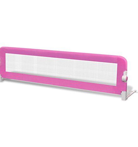 Barrires-de-lit-pour-enfants-150-x-42-cm-Rose-0