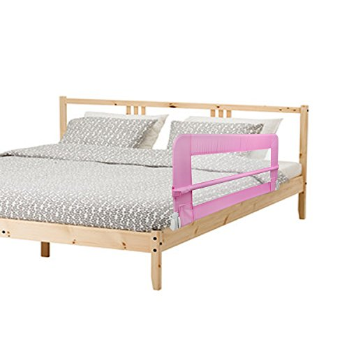 achat leogreen couleur rose barre de lit b b 102 x 41 9 x 43 2. Black Bedroom Furniture Sets. Home Design Ideas