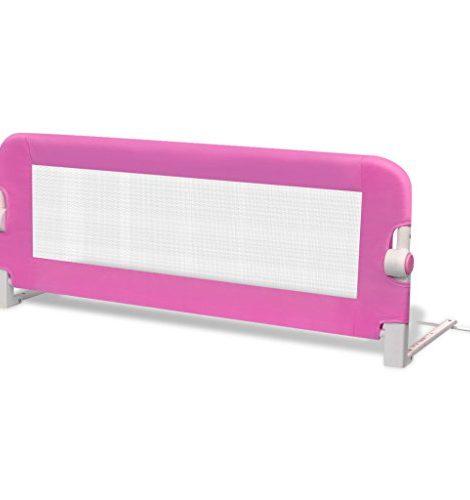 Barrires-de-lit-pour-enfants-102-x-42-cm-Rose-0