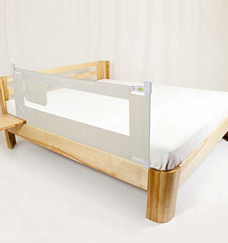 150180200cm-Barrires-de-Lit-Enfants-Bbs-Hauteur-Rglable-Protection-Bord-de-Lit-Pliable-pour-Scurit-des-Enfants-180cm-0