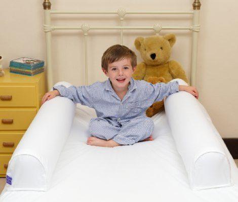 Hippychick-Dream-Tubes-Barrire-de-Lit-Gonflable-et-son-Drap-ensemble-90-x-195-x-25cm-jupe-et-17cm-gardes-levs-0-4