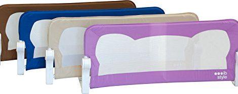Barrire-de-lit-FINN-4-tailles-4-couleurs-Portable-Rabattable-avec-Safetybutton-Scurit-Bedrail-Safetyguard-150cm-x-42cm-BEIGE-0