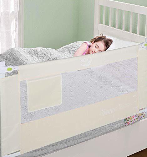 Ejoyous-180-x-68-cm-Barrire-de-Lit-Pour-Enfants-Portable-Pliable-Barrire-de-Scurit-Anti-Falling-Lit-pour-Protection-De-Bb-Beige-0