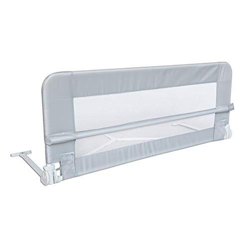 Leogreen-Barrire-de-Scurit-pour-Lit-de-Bb-Barrire-de-Scurit-Pliable-102-mtres-Gris-Matriau-Tissu-en-nylon-0