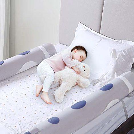 Barrire-de-Lit-pour-Bambins-2-pcs-Barreaux-de-lit-Gonflables-Portable-Barrire-de-Protection-Bb-pour-usage-domestique-et-voyage-0