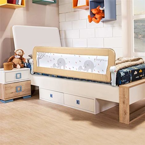 Barrire-de-lit-pour-tout-petits-BabyElf-15-m-59-pouces-trs-long-garde-barrire-rabattable-pour-enfant-0