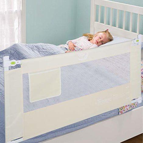 Ejoyous-Barrire-de-Lit-Pour-Enfants-Portable-Pliable-Barrire-de-Scurit-Anti-Falling-Lit-pour-Protection-De-Bb-Beige-0