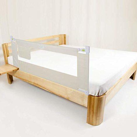 Ejoyous-Barrire-de-Lit-Pour-Enfants-Portable-Pliable-Barrire-de-Scurit-Anti-Falling-Lit-pour-Protection-De-Bb-Beige-150180-200-x-68cm-0