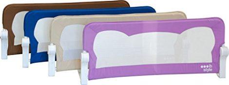 IB-Style-Barrire-de-lit-FINN-4-Tailles-4-Couleurs-Portable-Rabattable-avec-Safetybutton-Scurit-Bedrail-Safetyguard-102cm-x-42cm-Beige-0