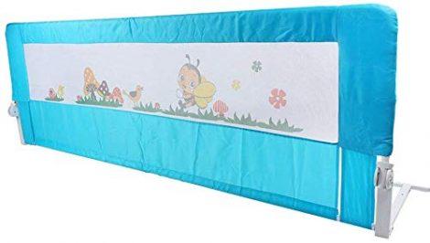 Ejoyous-Barrire-De-Lit-Pour-Enfants-Portable-Lavable-Barrire-de-Scurit-Lit-en-Acier-Inoxydable-et-Toile-Pour-Protection-De-Bb-0
