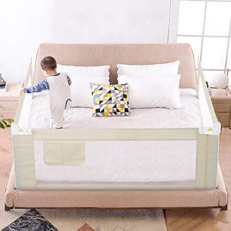Greensen-Barrire-de-lit-pour-enfant-Protection-anti-chute-Pliable-Pour-enfant-0