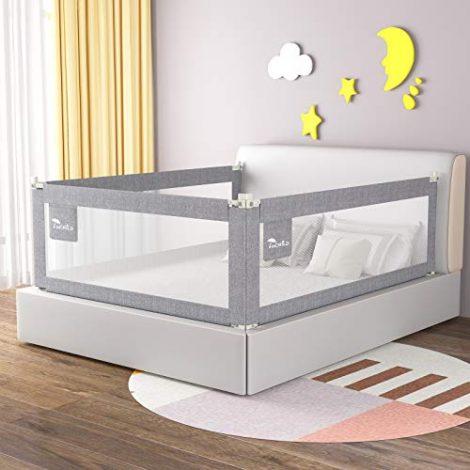 Luchild-Barrires-de-lit-Barrire-de-Scurit-Enfant-Pliable-Ajustable-Barrire-de-Protection-Adaptes-aux-lits-denfants-aux-lits-des-parents-1-pc180200-71cm-gris-0